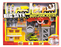 Big Site Giant Crane Play Set (With sound effects)