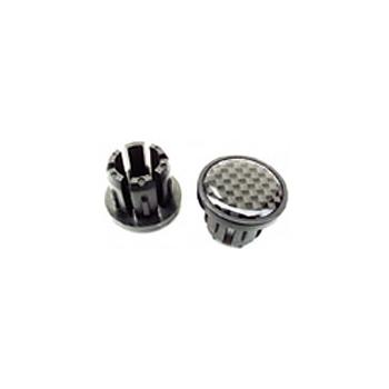 Carbon Look End Plugs