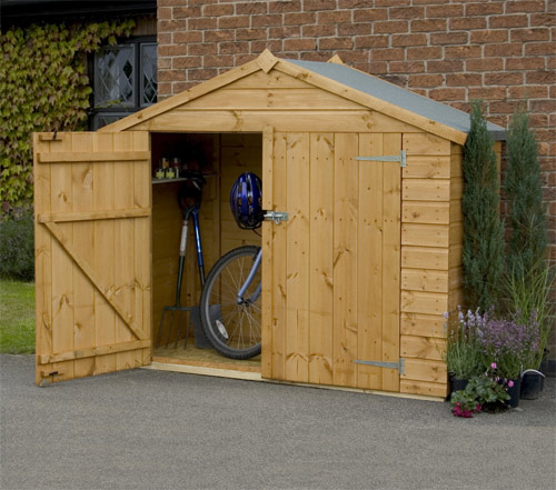 Store Garden Shed (Optional Erection Service)
