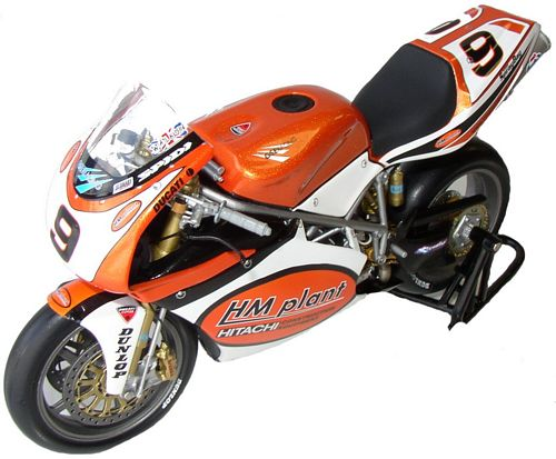 1:12 Minichamps bike Ducati 998R - C. Walker