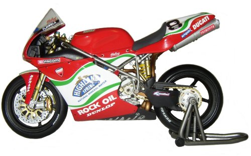 1:12 Minichamps bike Ducati 998RS British Super Bike Byrne