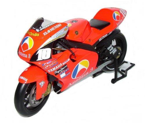 1:12 Minichamps bike Yamaha YZR 500 Antena 3 GP Bike 2001 - Jose Luis Cardoso