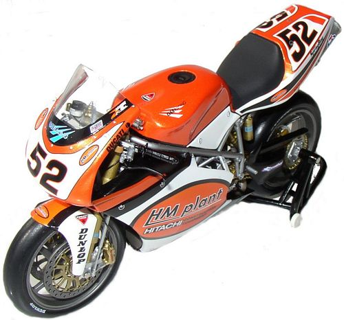 Ducati 1:12 Minichamps bike 998RS - J. Toseland