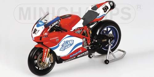 Ducati 1:12 Minichamps bike 999 RS - L.Haslam