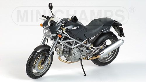 Ducati Monster (620-750-900) i.e. black 1:12