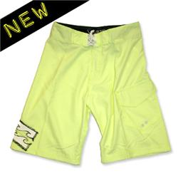 Boys Arch Board Shorts - Electric Yellow