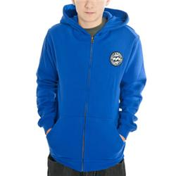Boys Circle Of Dust Hoody -Electric Blue