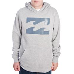 Boys Fade Out Hoody - Grey Heather