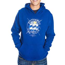 Boys Feature Hoody - Estate Blue