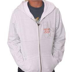 Boys Hide Out Zip Hood - White