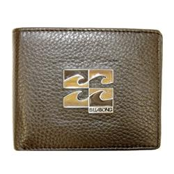 Decept Icon Leather Wallet - Chocolate