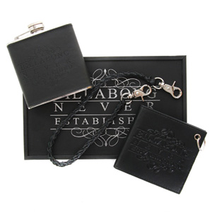 Just In case Wallet and flask set -