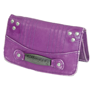 Ladies Billabong Laena Pu Purse. Purple