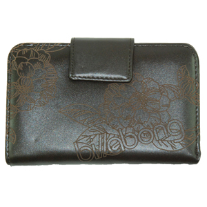 Ladies Billabong Laurens PU Purse. Turkish Coffee