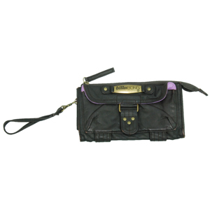 Ladies Billabong Louma PU Purse. Coffee