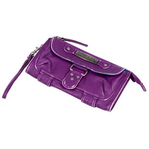 Ladies Billabong Louma PU Purse. Purple