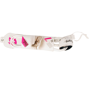 Ladies Billabong Synergy 7 Leash 2.2 Meters. White
