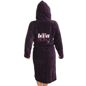 Maloha Bathrobe - Very Berry