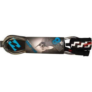 Billabong Parko Big 8 Leash 2.44 Meters. Clear