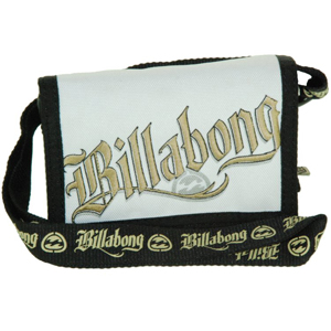 Mens Billabong Section Wallet. White