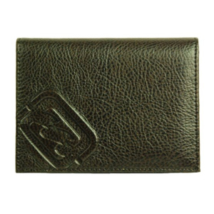 Mens Billabong Vertical Leather Wallet. Chocolate