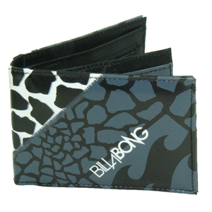 Mens Billabong Antako Wallet. Black