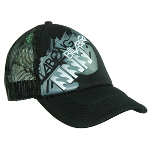 Mens Billabong Depression Trucker Cap. Black