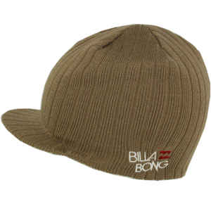 Mens Billabong Echopeak Beanie. Earth