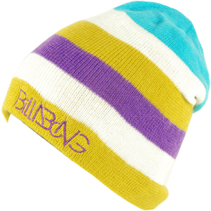 Mens Billabong Strech Beanie. New Violet