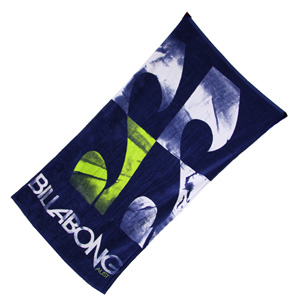 Stacked Beach Towel - Navy Blue