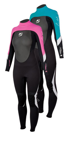 Synergy 3mm GBS Ladies Steamer Wetsuit