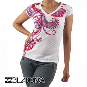 T-Shirts - Billabong Leo T-Shirt - White