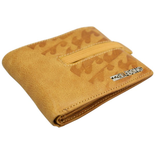 Tan Divided Wallet by