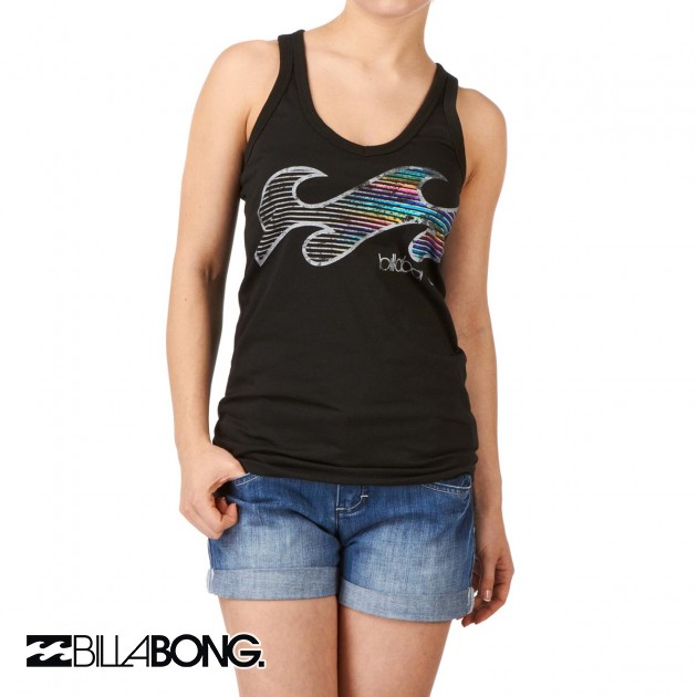 Womens Billabong Luciano T-Shirt - Black
