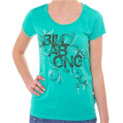 Womens Bossa Nova T-Shirt - Sea Green