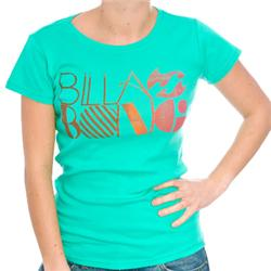 Womens Clovis T-Shirt - Sea Green