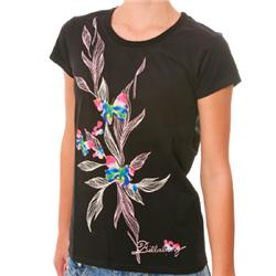 Womens Fancy Free T-Shirt - Black