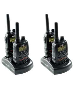 Action 950 Two Way Radio Quadruple Pack