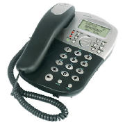 Caprice 500 Corded Telephone Black/Silver