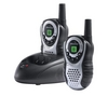 Latitude 150 Twin Walkie Talkie - Black and Silver