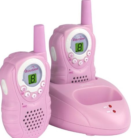 Latitude 150 Twin Walkie Talkie - Pink