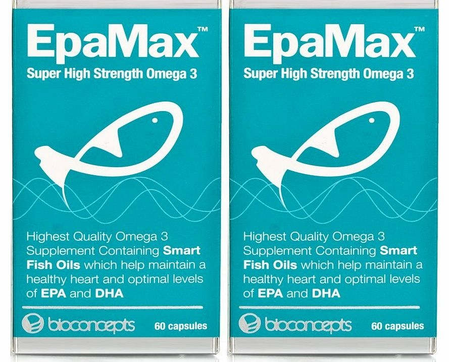 EpaMax Omega 3 - High Strength Twin Pack