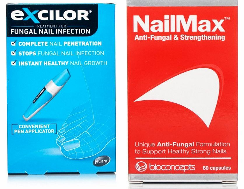 Excilor & NailMax Nail Treatment Pack