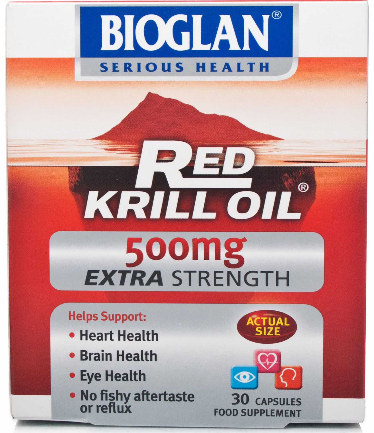 Red Krill Oil 500mg
