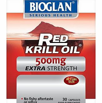 Red Krill Oil Pure Extra Strength 500mg