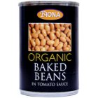 Case of 6 Biona Organic Baked Beans 420g