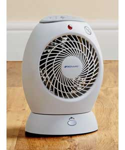 bionaire 2KW Fan Heater With Oscillation