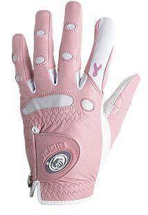 BIONIC WOMENS PINK RIBBON CLASSIC GOLF GLOVE RIGHT HAND PLAYER MEDIUM
