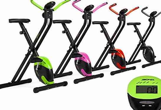 Bionix Aerobic Training Fitness Exercise Bike Lime Green Colour