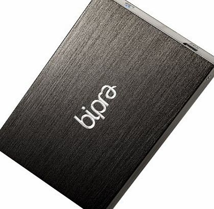 Bipra 160GB 2.5 inch USB 2.0 FAT32 Portable External Hard Drive - Black